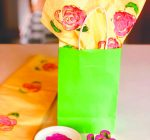 Earth Day craft: Print 'roses in bloom' with celery stalk stamp