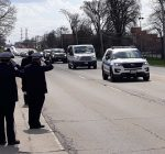 A show of support for Chicago officer who died from coronavirus