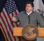 Amid apparent virus plateau, Pritzker says stay the course