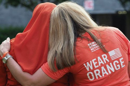 Moms deliver anti-gun violence message virtually