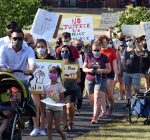 Plainfield families march for justice, Black Lives Matter