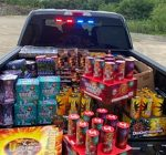 Kane sheriff's investigation lands large-scale explosives, illegal fireworks