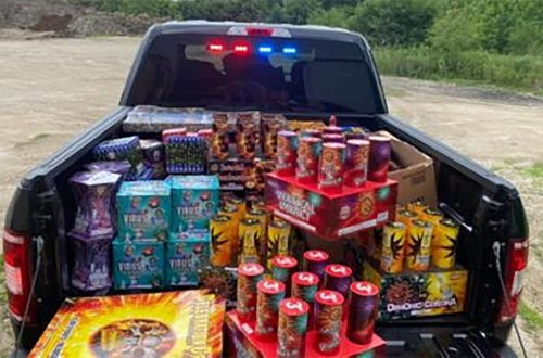 Kane sheriff's investigation lands large-scale explosives, illegal fireworks