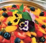 Fresh fruit, berry pie is late summer treat