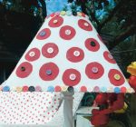 Make lamplight polka-dot bright