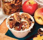 Apple pecan granola is seasonal specialty