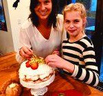 Pavlova is luscious meringue dessert
