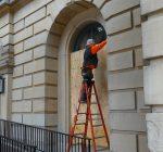 Pritzker activates National Guard, crews shore up state Capitol