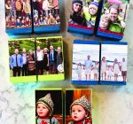 Transform photo cards into game for toddlers