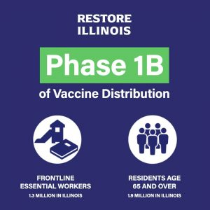 Illinois now has more than 500 designated vaccination sites