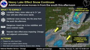 Keeping safe as extreme cold and snow sweep across Illinois