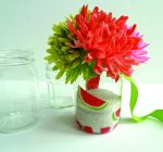 CREATIVE FAMILY FUN: Give jars in bloom to thank a teacher