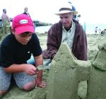 CREATIVE FAMILY FUN: Sandcastle making is fun for all ages