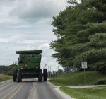 Harvest quickly approaching; motorists advised to slow down